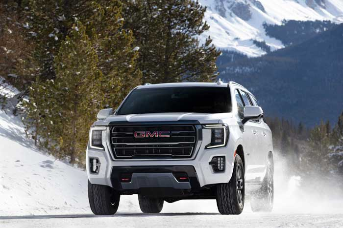 2021 GMC Yukon AT4 debuts with nice features