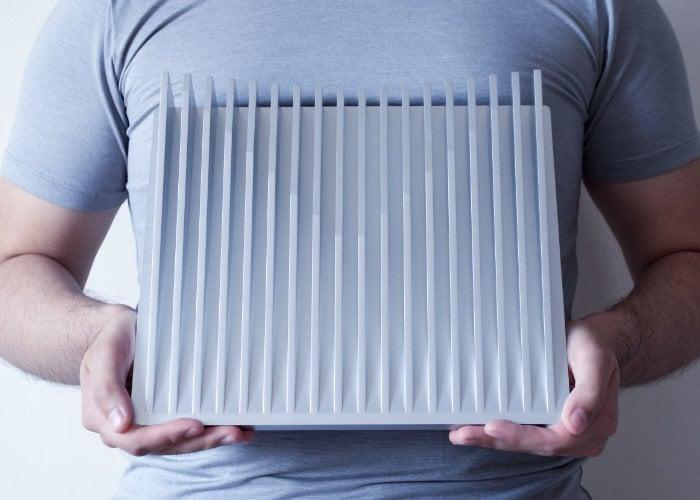 Aluminium passive cooling stand