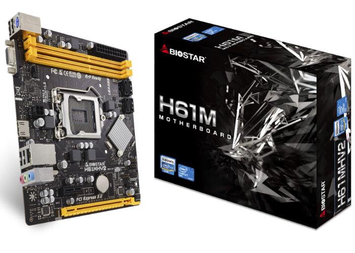 BIOSTAR H61 Series motherboard