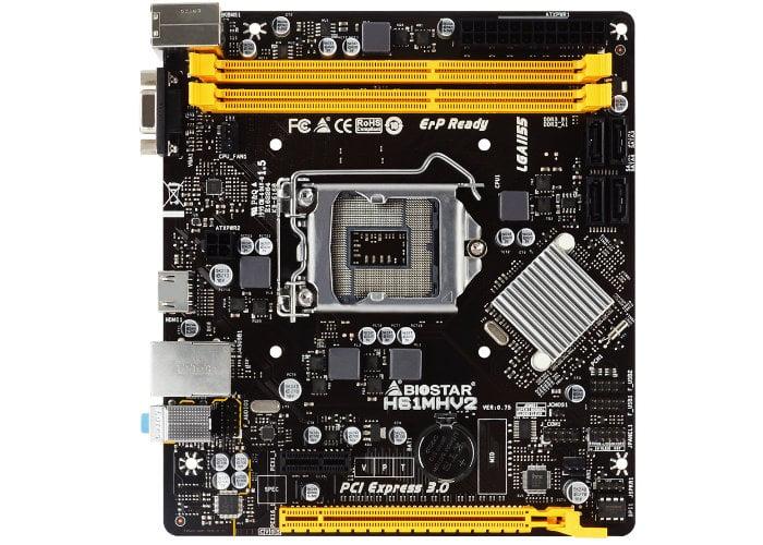 BIOSTAR H61 Series motherboard rebooted