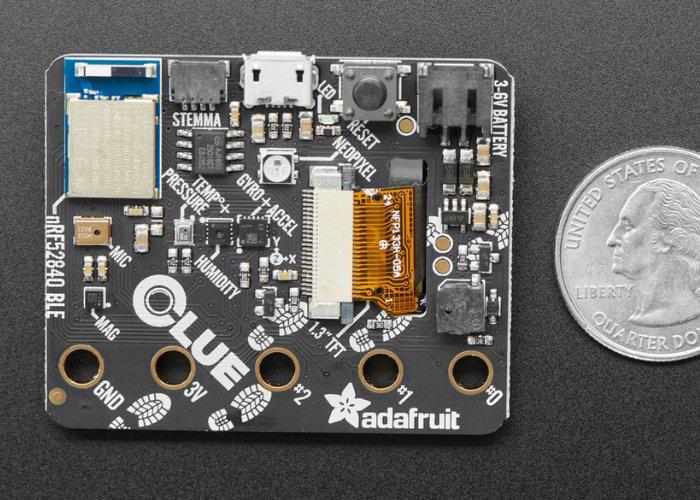 CLUE sensor board