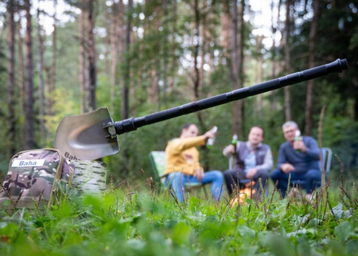 BAHA adventure and camping shovel combines 21 tools and 30 functions - Geeky Gadgets