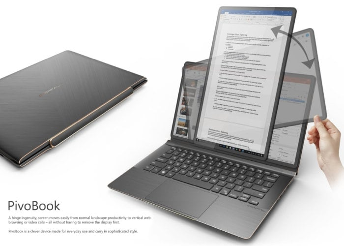 Compal PivoBook laptop