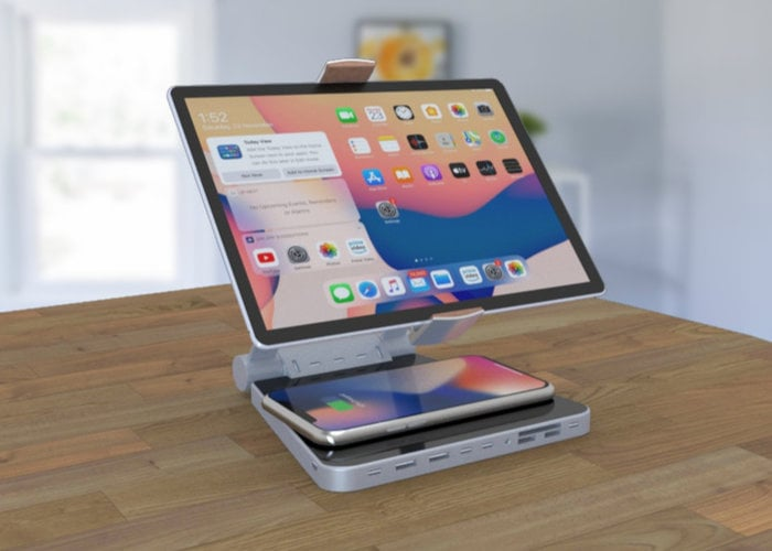 Ultimate Desk Dock charger and stand for tablets and smartphones - Geeky Gadgets
