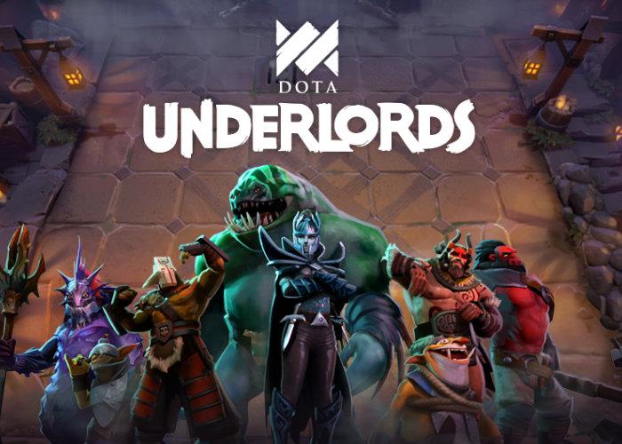 Dota Underlords mobile
