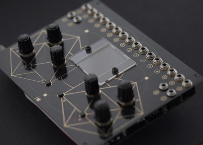 FLUX Eurorack temporal modulation rhythm sequencer