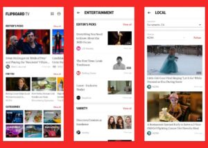 Flipboard TV video news service