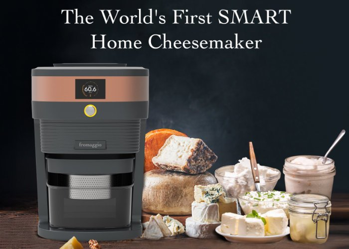Fromaggio counter top home cheese maker
