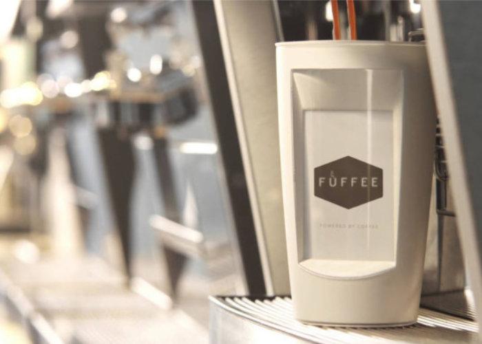 e Ink coffee mug