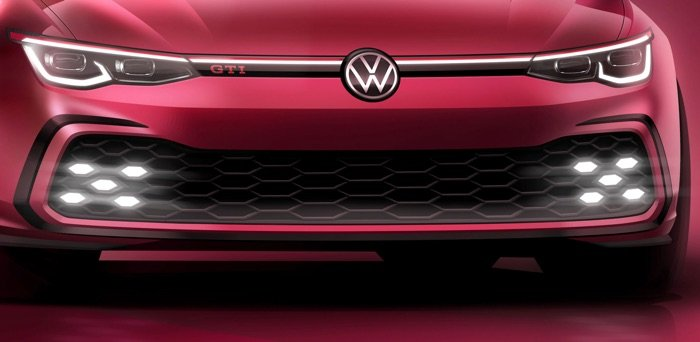 New Volkswagen GTI teased in official photo - Geeky Gadgets