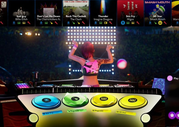 Harmonix FUSER game