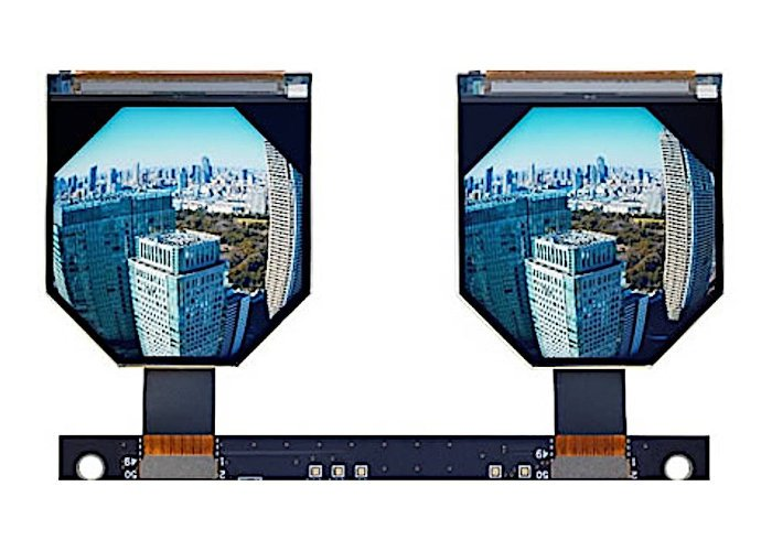 JDI LCD VR displays
