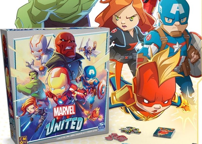 Marvel United CMON board game