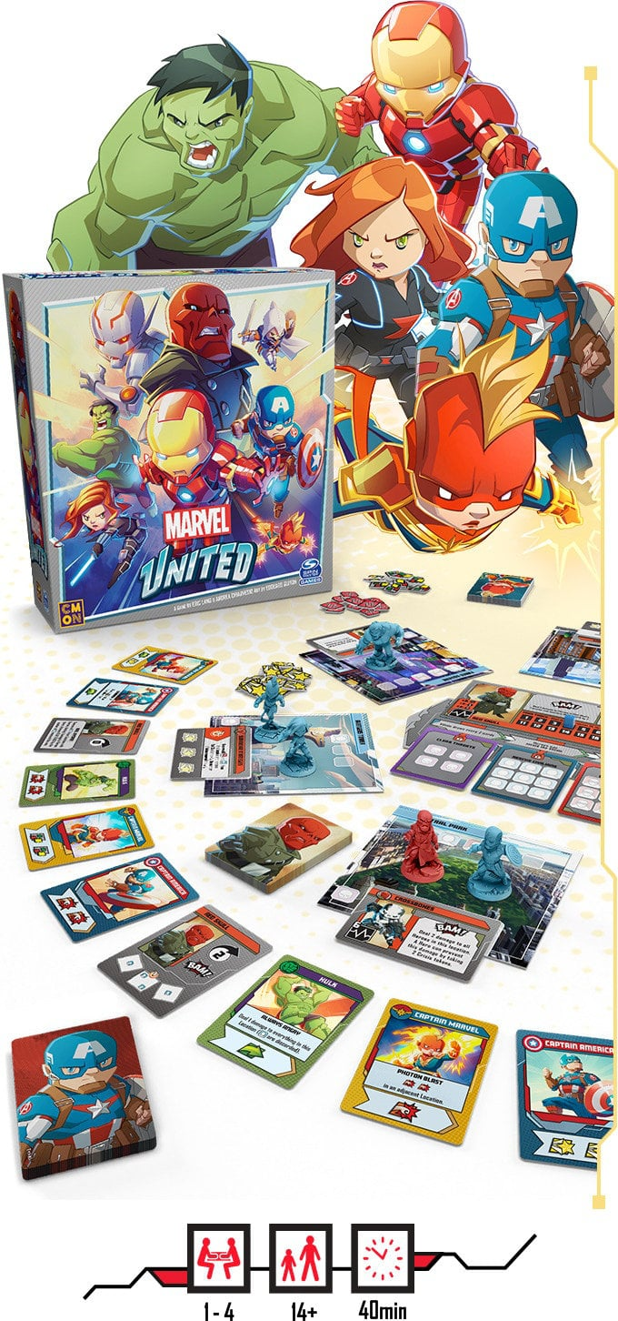 Marvel United board game