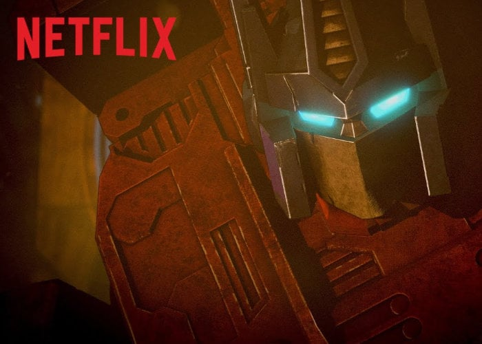 Netflix Transformers TV series