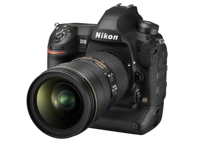 Nikon's D6 flagship DSLR is here to ace sports photography