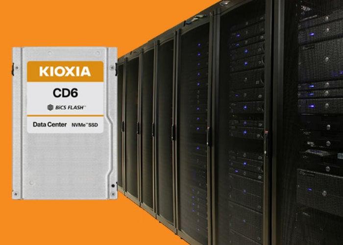 KIOXIA CD6 Series PCIe 4.0 U.3 SSD range introduced - Geeky Gadgets