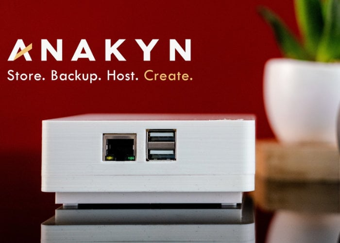 Anakyn personal server and cloud storage solution from $99 - Geeky Gadgets
