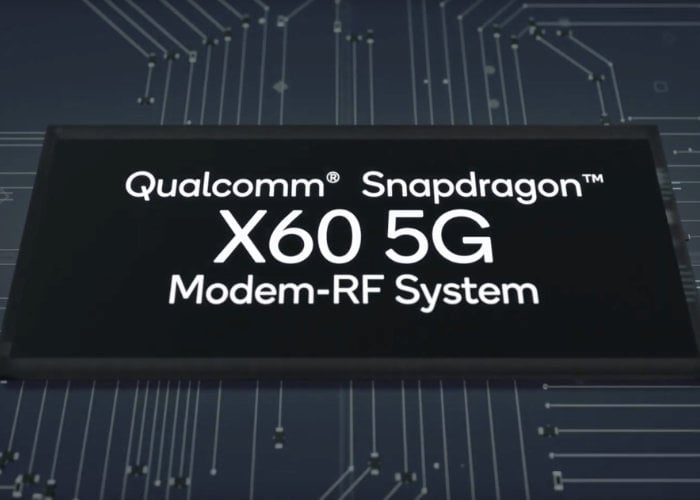 Qualcomm Snapdragon X60 5G modem