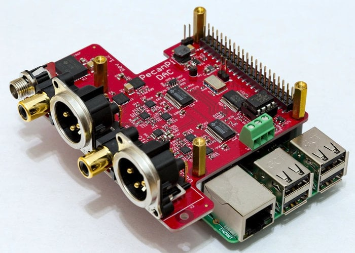 Make music with the DAC Raspberry Pi PecanPi HAT - Geeky Gadgets