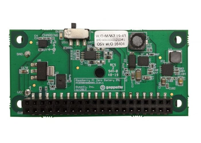 Raspberry Pi battery board