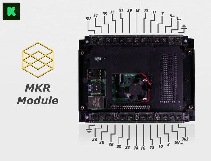 Raspberry Pi breakout module