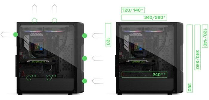 SilentiumPC PC cases