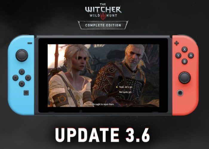 Switch Witcher