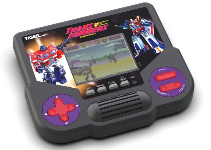 Tiger LCD handheld games