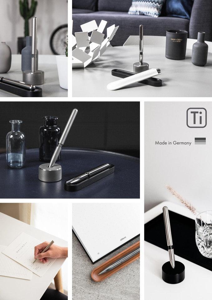 Titanium pen