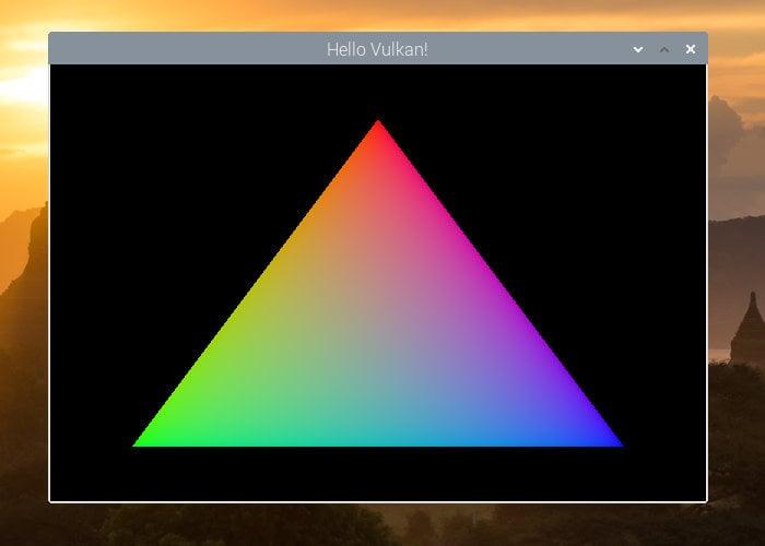 Vulkan coming to Raspberry Pi