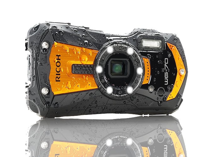 Ricoh WG-70 compact waterproof camera can go to depths of 14m