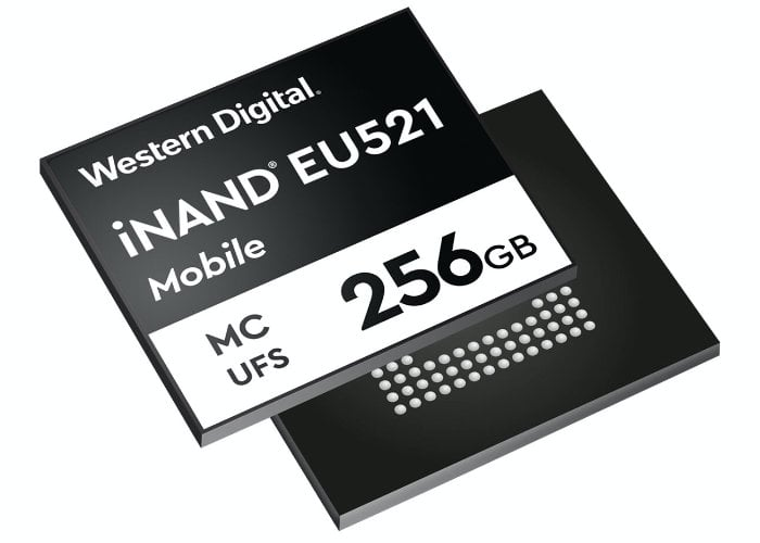 Western Digital iNAND EU521 Fast UFS 3.1 storage unveiled for 5G devices - Geeky Gadgets