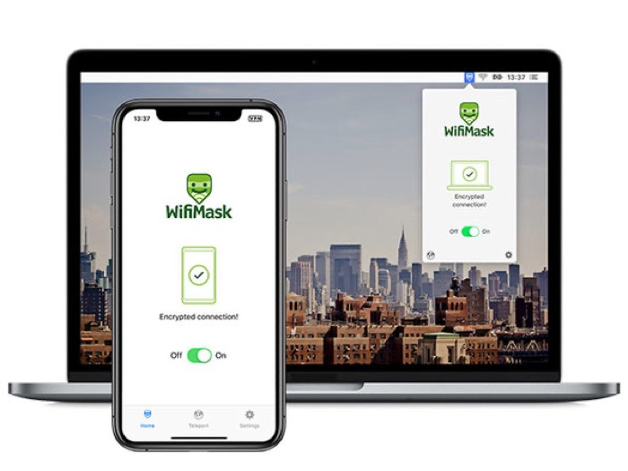 WifiMask VPN Unlimited Devices
