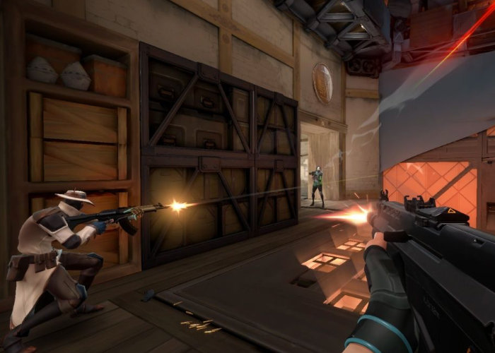 competitive shooter game Project A