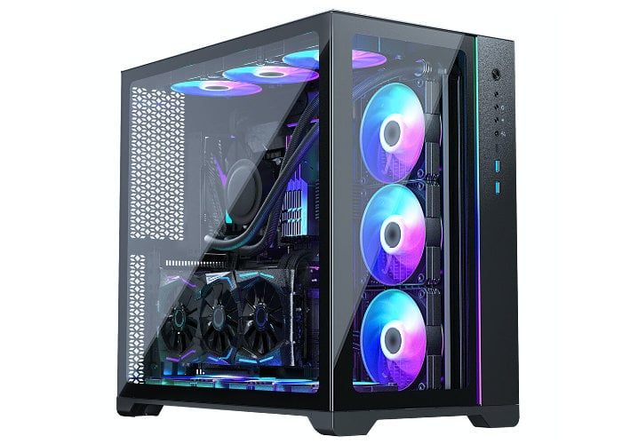 dual-chamber PC chassis