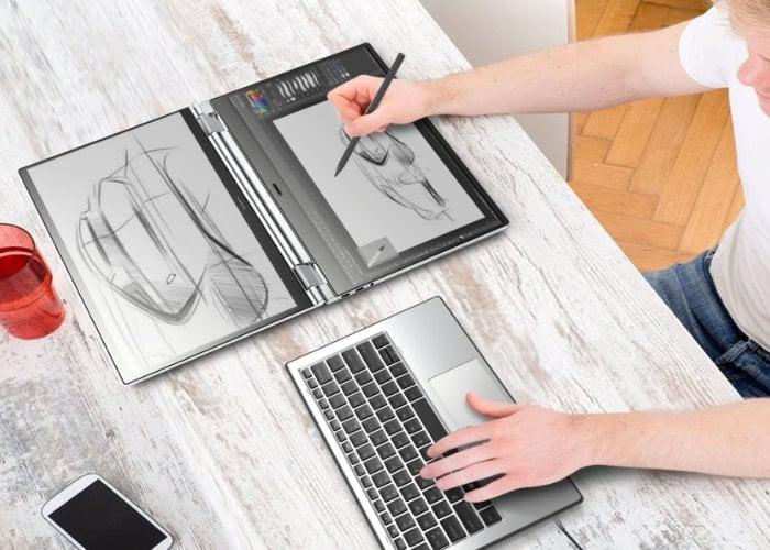 dual screen laptop