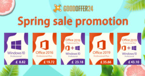 GOODOFFER24 Sping sale