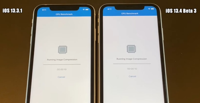 iOS 13.4 Beta 3 vs iOS 13.3.1