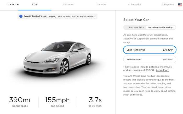 Tesla ups range for Model S cars slightly - Geeky Gadgets