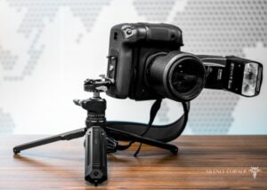tilting camera plate