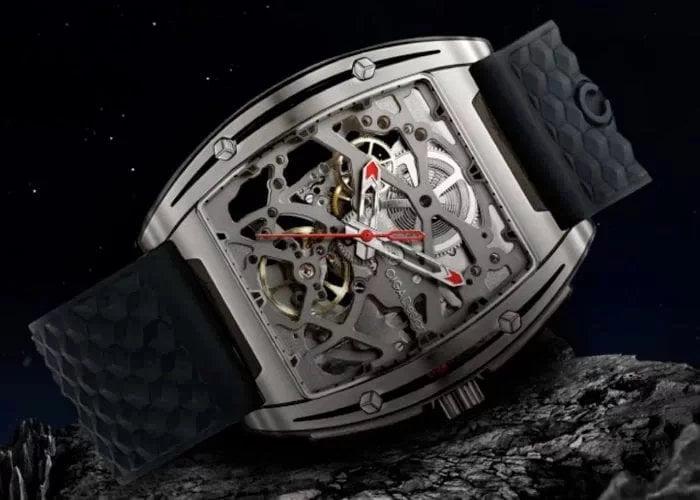 CIGA titanium mechanical watch raises over $2,000,000 from crowdfunding - Geeky Gadgets