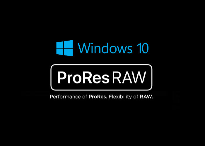Apple ProRes RAW Beta released for Windows