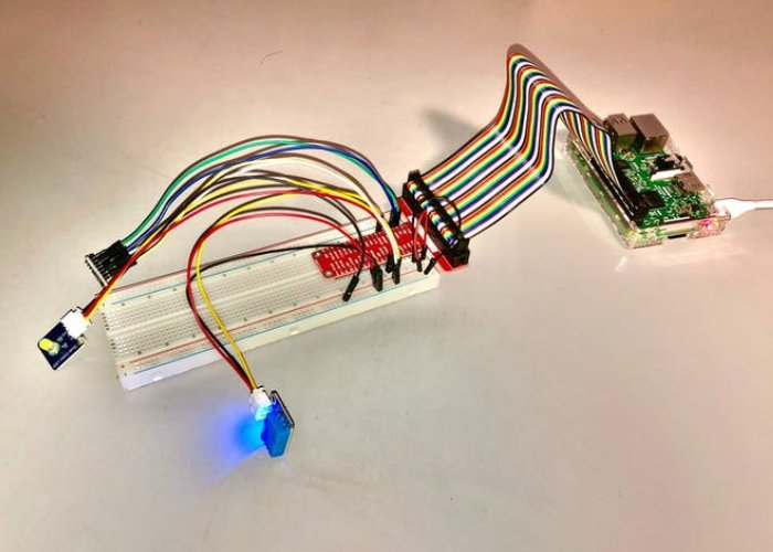 Easy to build Raspberry Pi weather station
