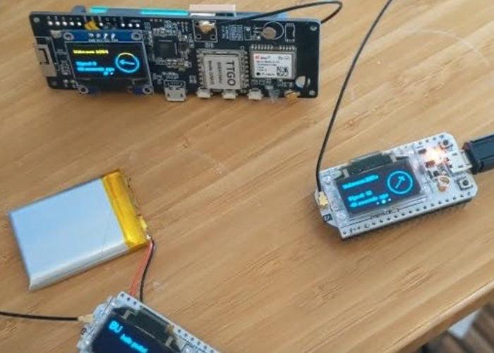 GPS mesh communicator