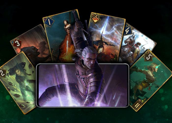 GWENT Witcher card game launches on Android