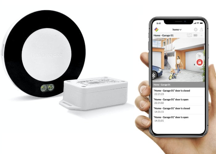 ismartgate garage door opener supports Apple Homekit, Alexa, Google and IFTTT - Geeky Gadgets