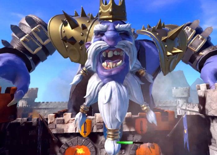 Good Goliath VR game