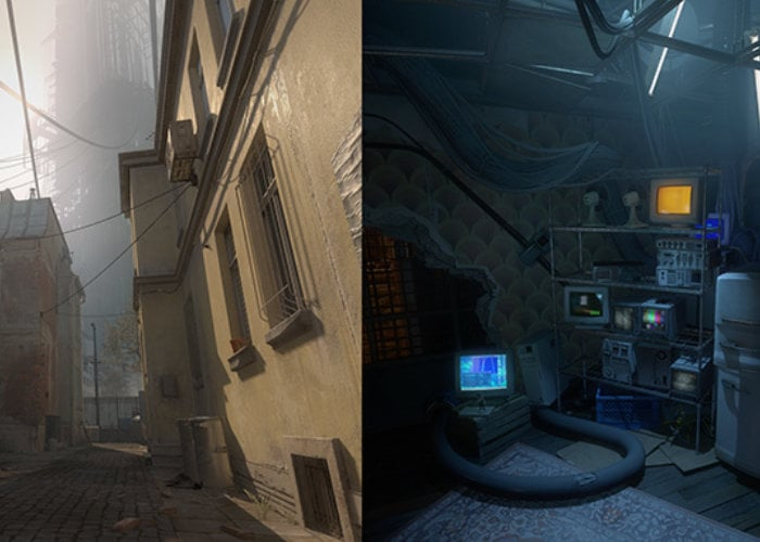 Half-Life Alyx new SteamVR home environments