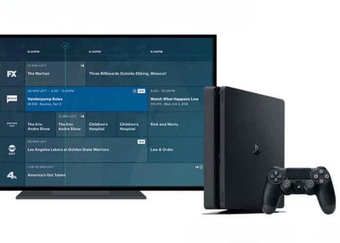 Hulu Live TV lands on the PlayStation 4